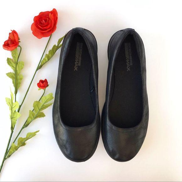 Skechers Shoes   Goga Max Black Ballet